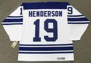 PAUL HENDERSON Toronto Maple Leafs 1968 Away CCM Vintage NHL Hockey Jersey - BACK