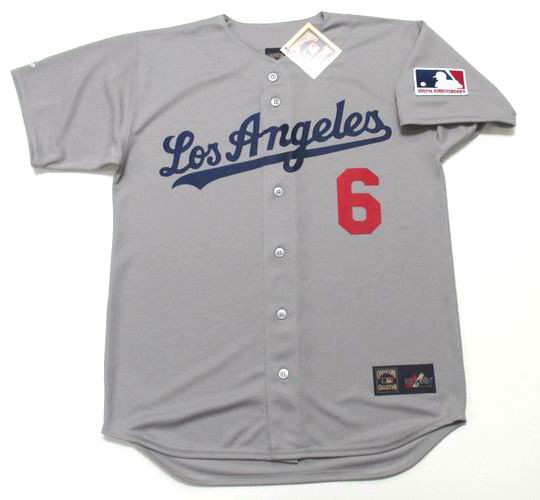 official photos fe101 72398 STEVE GARVEY Los Angeles Dodgers 1969 Majestic Cooperstown Away Baseball  Jersey