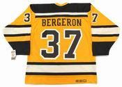 "PATRICE BERGERON Boston Bruins 2010 CCM Vintage ""Winter Classic"" NHL Hockey Jersey"