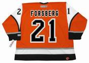 PETER FORSBERG Philadelphia Flyers 2006 CCM Throwback Alternate NHL Hockey Jersey