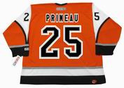 KEITH PRIMEAU Philadelphia Flyers 2003 CCM Throwback Alternate NHL Hockey Jersey