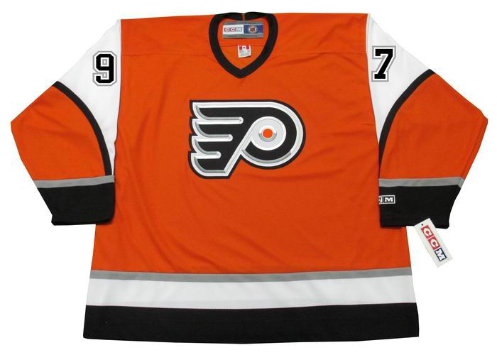 timeless design 98739 48e9c JEREMY ROENICK Philadelphia Flyers 2003 CCM Throwback Alternate NHL Hockey  Jersey