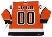 "PHILADELPHIA FLYERS 2000's CCM Throwback Hockey Jersey Customized ""Any Name & Number(s)"""