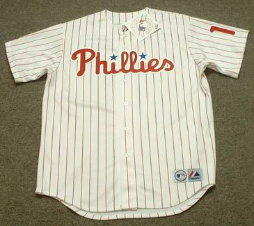 JIMMY ROLLINS Philadelphia Phillies 2006 Majestic Throwback Home Baseball  Jersey - Custom Throwback Jerseys 18033191b16