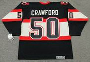 COREY CRAWFORD Chicago Blackhawks 1930's CCM Vintage NHL Hockey Jersey