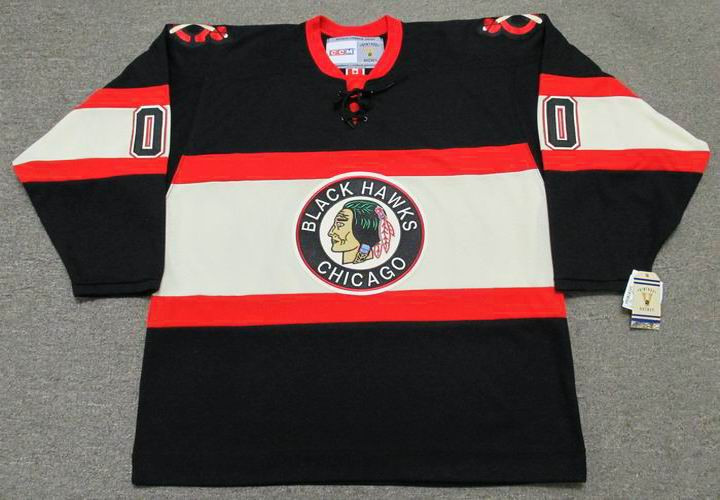 CHICAGO BLACKHAWKS 1930 s CCM Vintage Jersey Customized