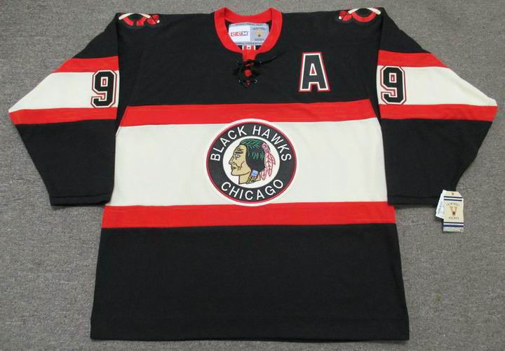 save off 6307e 39484 BOBBY HULL Chicago Blackhawks 1930's CCM Vintage NHL Hockey Jersey
