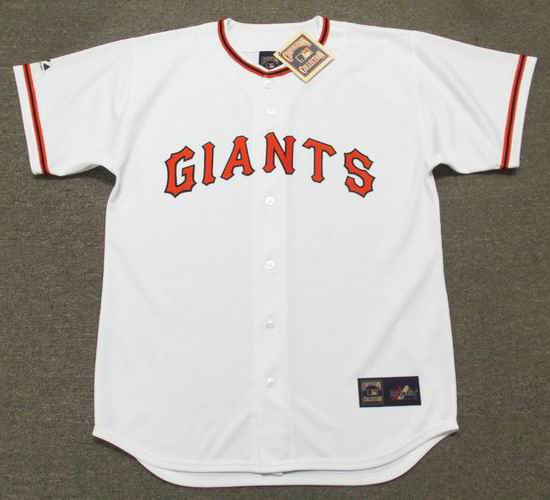 premium selection 10d29 a7735 WILLIE McCOVEY San Francisco Giants 1973 Majestic Cooperstown Home Baseball  Jersey