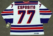 PHIL ESPOSITO New York Rangers 1978 CCM Vintage Home NHL Hockey Jersey