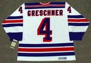 RON GRESCHNER New York Rangers 1986 CCM Vintage Home NHL Hockey Jersey