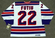 NICK FOTIU New York Rangers 1982 CCM Vintage Throwback Home NHL Hockey Jersey