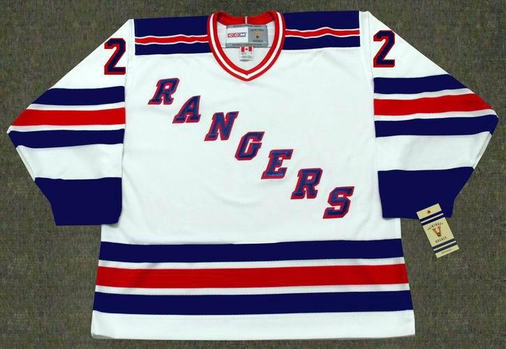 online store ea899 8f45b NICK FOTIU New York Rangers 1982 CCM Vintage Throwback Home NHL Hockey  Jersey