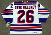 DAVE MALONEY New York Rangers 1979 CCM Vintage Home NHL Hockey Jersey
