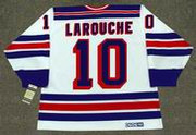 PIERRE LAROUCHE New York Rangers 1983 CCM Vintage Home NHL Hockey Jersey