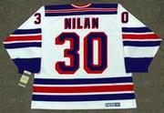 CHRIS NILAN New York Rangers 1988 CCM Vintage Home NHL Hockey Jersey
