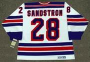 TOMAS SANDSTROM New York Rangers 1986 CCM Vintage Home NHL Hockey Jersey