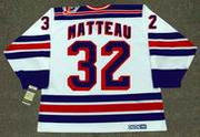 STEPHANE MATTEAU New York Rangers 1994 CCM Vintage Home NHL Hockey Jersey