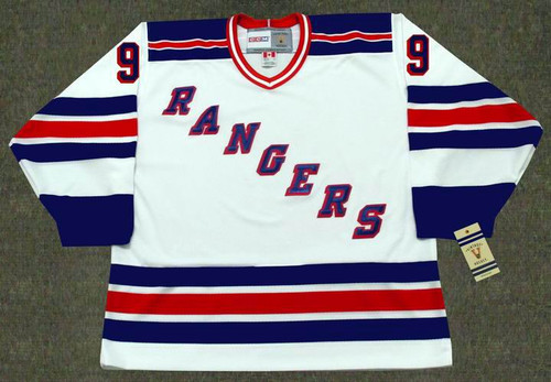 WAYNE GRETZKY New York Rangers 1996 Home CCM NHL Vintage Throwback Jersey - FRONT