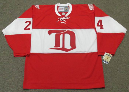 2014 CCM Winter Classic Alumni Throwback CHRIS CHELIOS Red Wings Hockey Jersey - FRONT