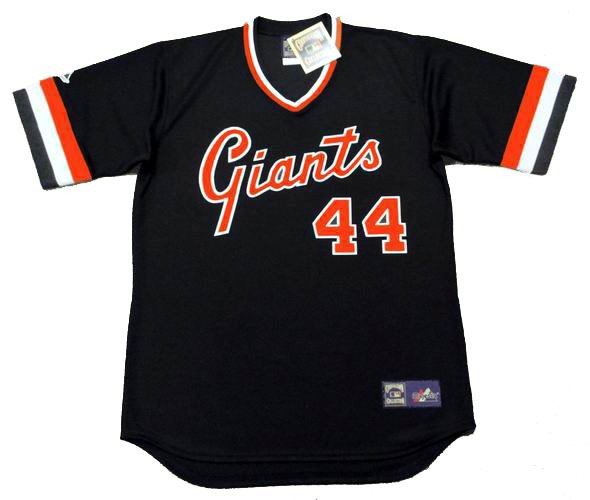 timeless design 68a73 3e7ba WILLIE McCOVEY San Francisco Giants 1978 Majestic Cooperstown Away Baseball  Jersey
