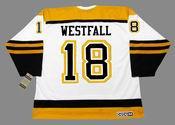 ED WESTFALL Boston Bruins 1966 CCM Vintage Throwback Away NHL Hockey Jersey