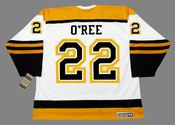 WILLIE O'REE Boston Bruins 1960's CCM Vintage Throwback Away NHL Hockey Jersey