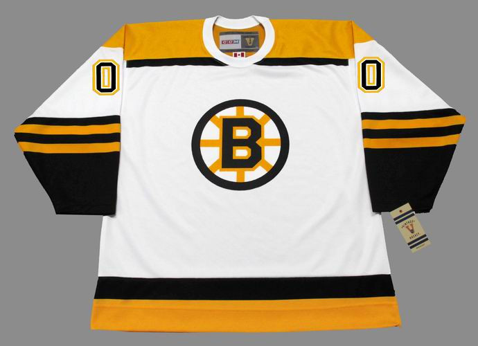 6c8843a98 BOSTON BRUINS 1960's Away CCM Vintage Custom NHL Jerseys - BACK · See 5  more pictures