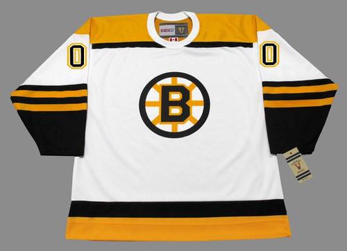 BOSTON BRUINS 1960's Away CCM Vintage Custom NHL Jerseys - FRONT