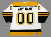 BOSTON BRUINS 1960's Away CCM Vintage Custom NHL Jerseys - BACK