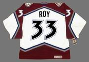 PATRICK ROY Colorado Avalanche 2001 CCM Vintage Throwback NHL Hockey Jersey - BACK