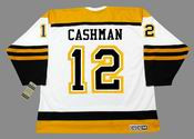 WAYNE CASHMAN Boston Bruins 1960's CCM Vintage Throwback Away NHL Hockey Jersey