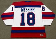 MARK MESSIER Indianapolis Racers K1 1978 WHA Throwback Hockey Jersey