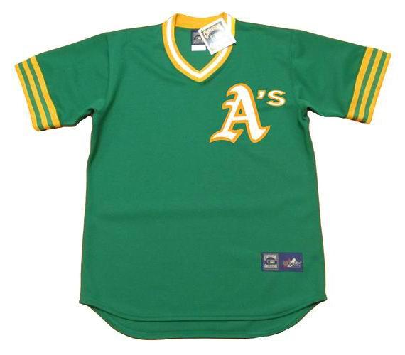 wholesale dealer 485ee 36600 REGGIE JACKSON Oakland Athletics 1973 Away Majestic Baseball Throwback  Jersey