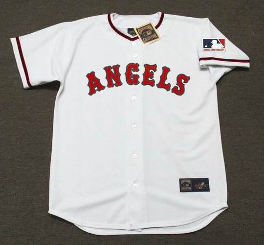 buy online 752b9 e58ef BUCK RODGERS California Angels 1969 Majestic Cooperstown Home Baseball  Jersey