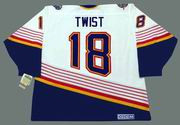 TONY TWIST St. Louis Blues 1996 Home CCM NHL Vintage Throwback Jersey