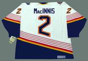 AL MacINNIS St. Louis Blues 1996 Home CCM NHL Vintage Throwback Jersey