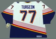 PIERRE TURGEON St. Louis Blues 1996 Home CCM NHL Vintage Throwback Jersey