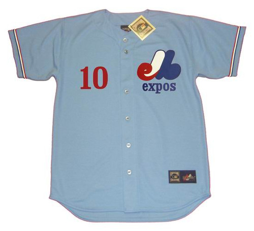 ANDRE DAWSON 1978 Away Majestic Baseball Montreal Expos Jersey - FRONT
