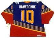 DALE HAWERCHUK St. Louis Blues 1996 Away CCM NHL Vintage Throwback Jersey