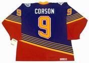 SHAYNE CORSON St. Louis Blues 1996 Away CCM NHL Vintage Throwback Jersey