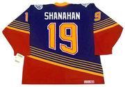 BRENDAN SHANAHAN St. Louis Blues 1994 Away CCM NHL Vintage Throwback Jersey