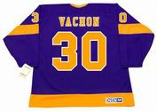 ROGIE VACHON Los Angeles Kings 1978 CCM Vintage Away NHL Hockey Jersey