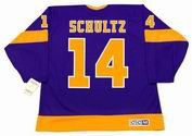DAVE SCHULTZ Los Angeles Kings 1977 CCM Vintage Away NHL Hockey Jersey