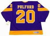 BOB PULFORD Los Angeles Kings 1971 CCM Vintage Away NHL Hockey Jersey
