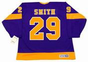 BILLY SMITH Los Angeles Kings 1971 CCM Vintage Away NHL Hockey Jersey