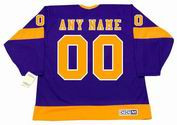 "LOS ANGELES KINGS 1967 CCM Vintage Away Jersey Customized ""Any Name & Number(s)"""