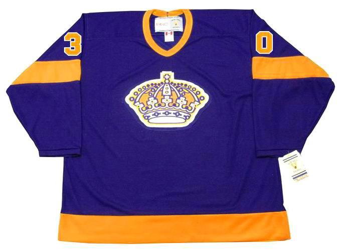 23f1d336c ... TERRY SAWCHUK Los Angeles Kings 1967 CCM Vintage Away NHL Hockey Jersey.  Image 1