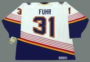 GRANT FUHR St. Louis Blues 1996 Home CCM NHL Vintage Throwback Jersey
