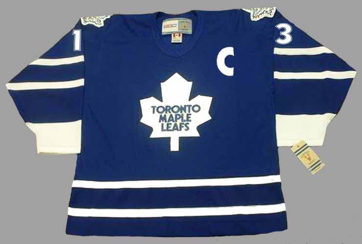 brand new 3b4e9 c1578 MATS SUNDIN Toronto Maple Leafs 1998 CCM Vintage Throwback NHL Hockey Jersey