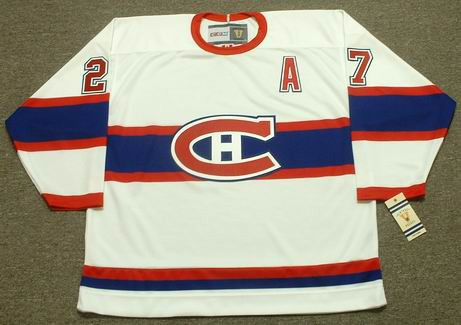 ALEX KOVALEV Montreal Canadiens 1946 CCM Vintage Throwback NHL Hockey Jersey  - Custom Throwback Jerseys 20bcfbcd10b
